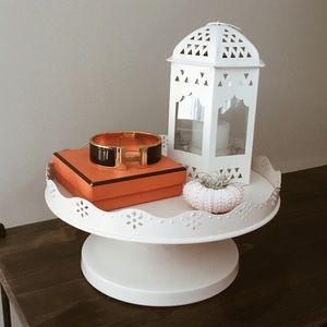 Display/Accessory Cake Stand- Cream Pink